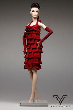 The Vogue Violet Designer Dress with Gloves for Fashion Royalty Barbie FR2 Doll   eBay