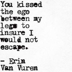 Erin Van Vuren —  #papercrumbs #erinvanvuren #wordgasm...