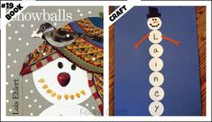 Winter Handprint Crafts | Book : Snowballs : Children take advantage of a perfect snowball day ...