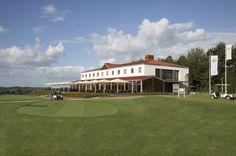 Het clubhuis van Pitch&Putt Golf Het Rijk van Margraten