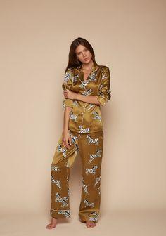 Lila Mona Silk Pyjamas - All Collections - Shop