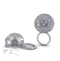 Christian Tse, Dandelion platinum ring