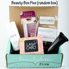 beauty box five | Beauty Box Five - pics, review