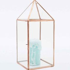 Candle Lantern in Copper - Urban Outfitters