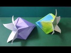 """花の折り紙「ベルフラワー」折り方""""Bell flower""""Flower Origami - YouTube"""