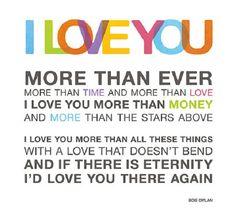 I Love You More Than Ever