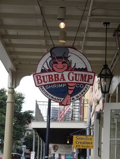 Bubba Gump Shrimp New Orleans