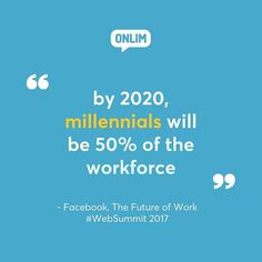 Reposting @onlim_com: Time to adapt!  #millennials #thefutureofwork #WebSummit  Make sure to follow @onlim_com for daily business inspiration! • • • • • • #startup #chatbots #technology #entrepreneur #startuplife #business  #artificialintelligence #technologyrocks #bots #entrepreneurship #startups #businessowner #motivation  #entrepreneurs #entrepreneurlife #marketing #socialmedia #worklife #facebook #smallbusiness #futuretech #quote #quoteoftheday #smallbusinesssaturday #igersbusiness…