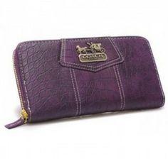 Coach Madison Op Art Shantung Accordion Zip Purse Purple U08011           Deals price:$49.09           http://www.gotcoachoutlet.com/