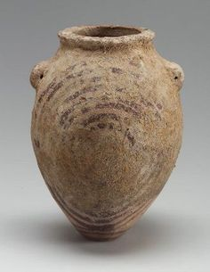 Decorated ware ovoid jar  Egyptian, Middle Predynastic