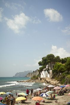 Moraira, Costa Blance, Spain. via http://makingmagique.com/travel/costa-blanca/
