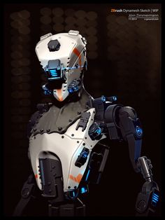Robot Concept by Nero-tbs on DeviantArt