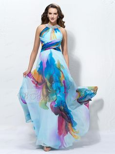 Charming A-line Floor-length Jewel Sleeveless Sequins Prom Dress Designed Independently