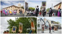 Fiestas De Albuquerque on April 8, 2017.  Celebrate Albuquerque's birthday and enjoy the history and traditions of our city with live entertainment, free children's activities, live artist demonstrations, local food, shopping, and fun for the whole family. Don't miss the Founders' Procession at 3:30 p.m.   http://www.cabq.gov/culturalservices/historic-old-town/fiestas-de-albuquerque  #RioGrandeInn #Albuquerque #fiestasdealbuquerque