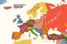 Europe According to USA