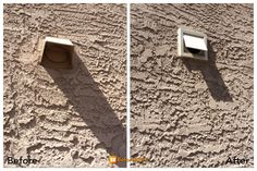 Our galvanized steel wall vents keep birds out and last the lifetime of the house #tucson #dryervent #birdsnest http://betterdryervent.com/tucson-az