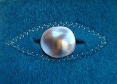 Applique buttonhole technique--reverse the welt for decorative buttonholes.