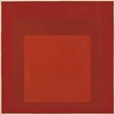 Josef Albers  Homage to the Square RIII a-ı  1970