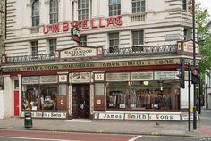 london shopping photos | Description London umbrella shop smith n sons may 2005.jpg