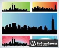 стилизованные картинки города - Поиск в Google