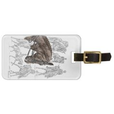 Collected Dressage Horses FEI Bag Tag