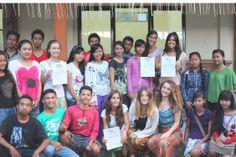 Bali volunteers at Program Ubud