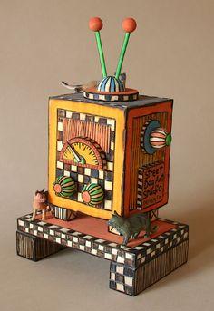 Wooden Music Box...Private Collection:  Halifax, Nova Scotia