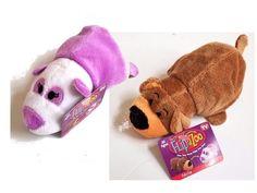"FlipaZoo's Little FlipZee 5"" Pocket Plush Pup to Li Li Panda Flipzees Flip a zoo"