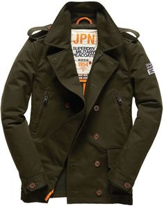 Superdry Montgomary Peacoat on shopstyle.co.uk
