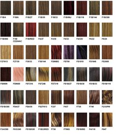 Natural Hair Color Chart Levels  Hairstyles    Colour