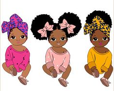 Unicorn Headpiece, Afro Ponytail, Shirt Clips, Afro Puff, Black African American, Black Boys, Rainbow Unicorn, Modern Outfits, Clipart