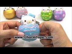 Hello Kitty Egg Squishy - Light Blue Dots by Sanrio