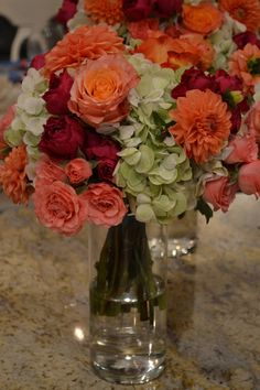 Glass Vase, Coral, Table Decorations, Elegant, Party, Furniture, Home Decor, Classy, Fiesta Party