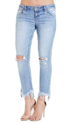 c577bd4a51707 These Dear John Erin Slim Straight Leg Jeans Alvarado feature a 28