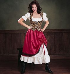 Bar wench costume