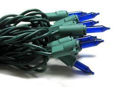 Good Tidings BST78452 Ultimate Litelock Christmas Light Set, Blue >>> Click here for more details @…