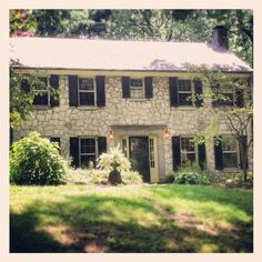 Forest Heights Colonial Revival Stone