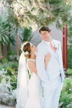 very cute pose We Heart Photography #weddingphotography #brideandgroom #weddingchicks http://www.weddingchicks.com/2014/04/08/sweet-southern-love-wedding/