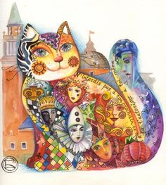 Chat de Venise by Oxana Zaika