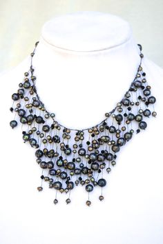 Goddess Pearl Necklace
