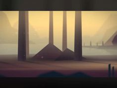 A snippet from a animation test. 2d in a 3d world. Some creatures will be added to the background later :)