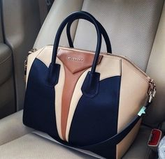 Givenchy color block tote.