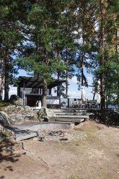 Outdoor Spaces, Outdoor Living, Rainy Lake, Summer Cabins, Home And Away, Cosy, Exterior, Landscape, House Styles