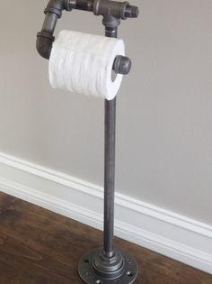 Tuyauteries industrielles permanent porte-papier WC