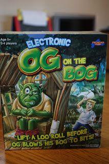 Entertaining Elliot: Drumond Park's Og on the Bog Review & Giveaway