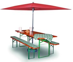 Shop online for a wholesale Beer Garden Rectangle Umbrella piece set) produced of high-grade materials. You can find more umbrellas at Restaurant Furniture Plus. Beer Garden, Garden Table, Outdoor Folding Table, Can You Find It, Restaurant Owner, Restaurant Furniture, High Quality Furniture, Custom Furniture, 1 Piece