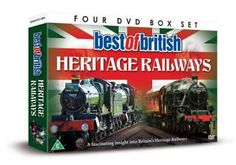 #BEST Of British Heritage Railways #Heritage Railways Volume 1: Introduced by Heritage Railway Magazine assistant editor Brian Sharpe the 2004 volume edition of the Heritage Railway Annual video is presented from the Great Central Railway at Loughborough. ... (Barcode EAN=5060294374862)