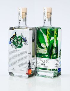 Self-promotion Packaging Design - Janus Gin - distilled grapes - Concept packaging by #LineaDesigners & print by #lithobru
