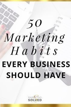These #marketing habits can help your campaign succeed! Marketing Digital, Marketing Online, Content Marketing, Internet Marketing, Social Media Marketing, Facebook Marketing, Affiliate Marketing, Business Advice, Business Quotes