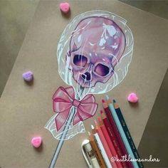 Lollipop skull ;)                                                                                                                                                      More